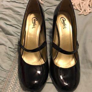🌟15% off Bundles of 3🌟 Black Strap Heel